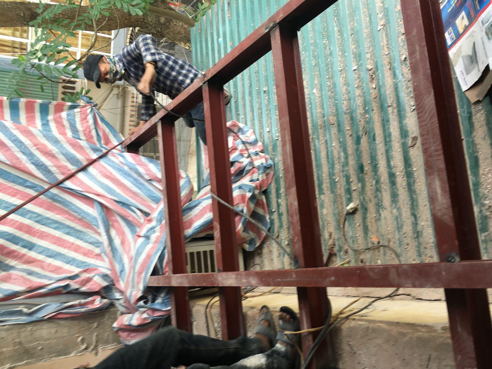 Công trình cải tạo chung cư cũ nhà Chị Thanh địa chỉ P313-A5 ngõ 28/76, Xuân La, Tây Hồ, Hà Nội-2