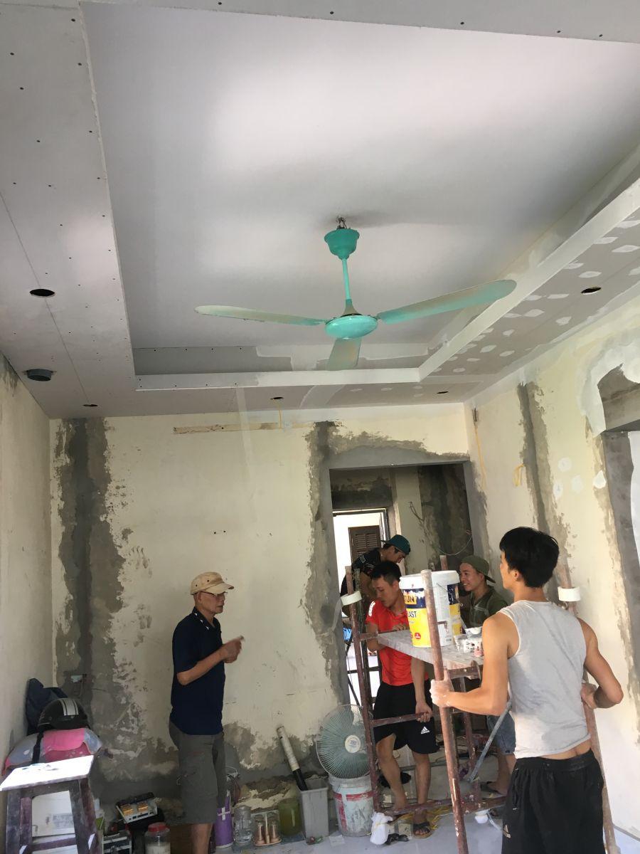 Công trình cải tạo chung cư cũ nhà Chị Thanh địa chỉ P313-A5 ngõ 28/76, Xuân La, Tây Hồ, Hà Nội-4