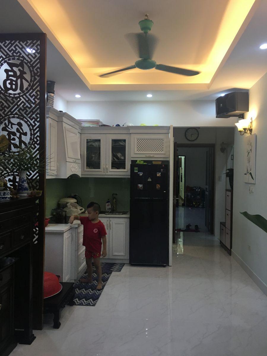 Công trình cải tạo chung cư cũ nhà Chị Thanh địa chỉ P313-A5 ngõ 28/76, Xuân La, Tây Hồ, Hà Nội-6