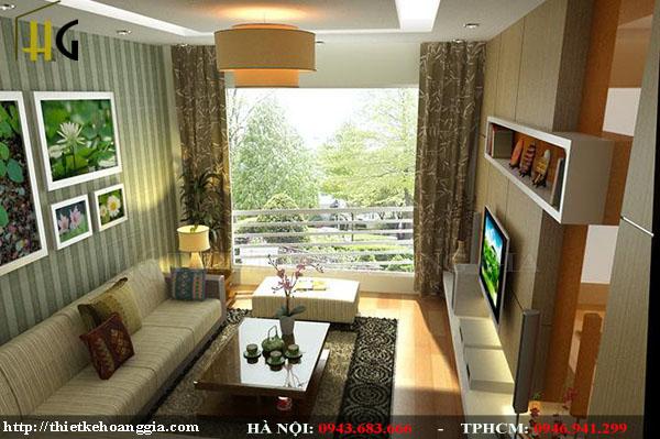 Thiết kế phòng khách sang trọng, hiện đại nhìn đã mắt-8