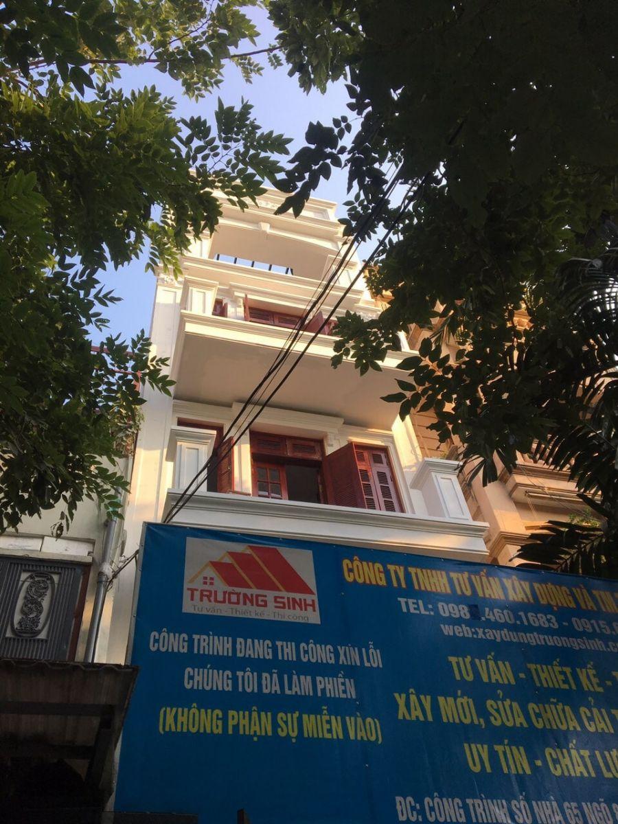 Bảng báo giá sửa chữa cải tạo nhà hà nội 2020-9