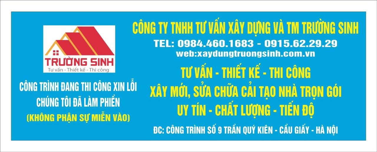 Báo giá xây nhà trọn gói tại Hà Nội Uy tín-Chất lượng-Tiến độ