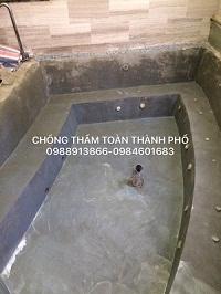 Biện pháp thi công chống thấm bể nước, nhà vệ sinh hiệu quả nhất.