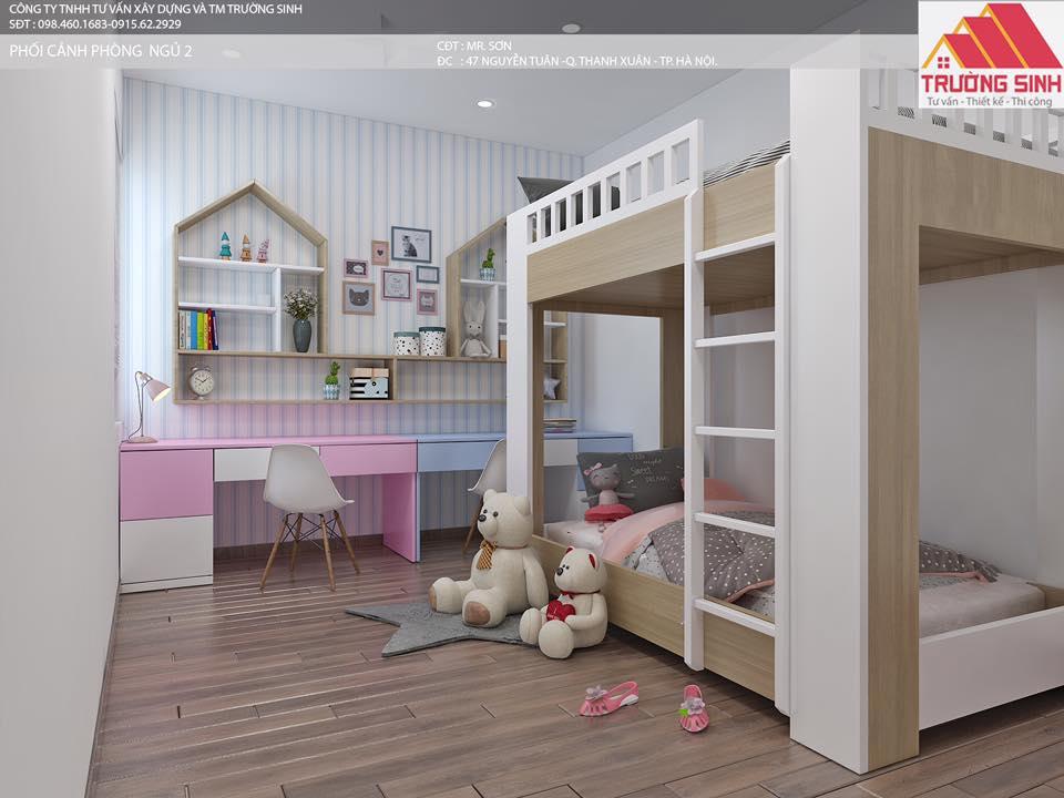 Thiết kế căn hộ chung cư- Dịch vụ sửa nhà trọn gói