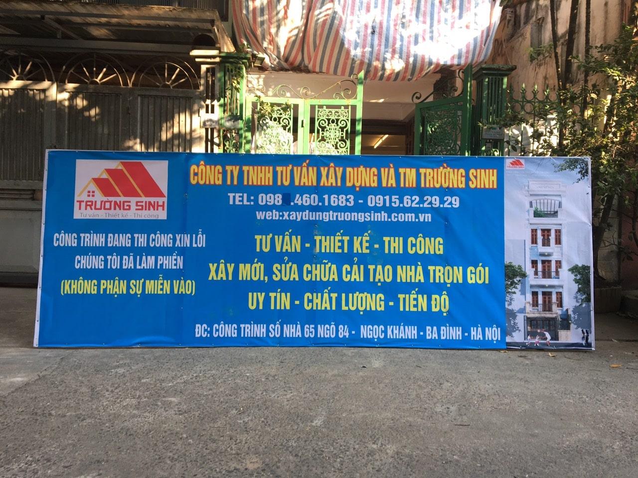 Báo giá sửa chữa nhà trọn gói tại Hà Nội 2020-Kinh nghiệm sửa nhà
