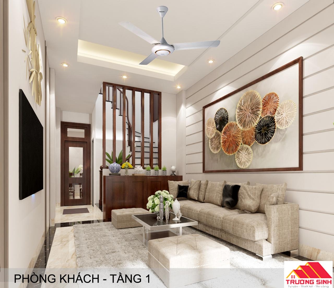Thiết kế cải tạo sửa chữa nhà chú Thắng tại Ba Đình, Hà Nội