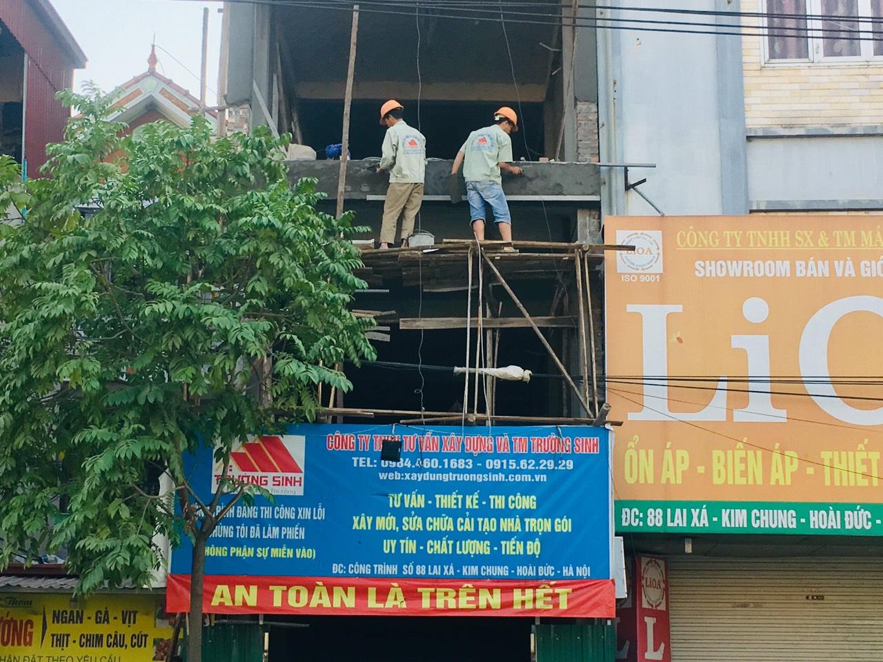 Bảng báo giá sửa chữa cải tạo nhà hà nội 2018