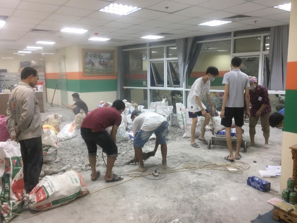 Thi công sửa chữa nhà phố tại Hà Nội